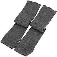 EnjoydealAU Women Knitted Arm Warmers Long Winter Warm Soft Fingerless Gloves Mittens Hand Warmer
