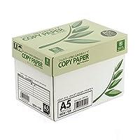 イーサプライ コピー用紙 A5 サイズ 500枚×10冊 5000枚 高白色 EZ3-CP1A5
