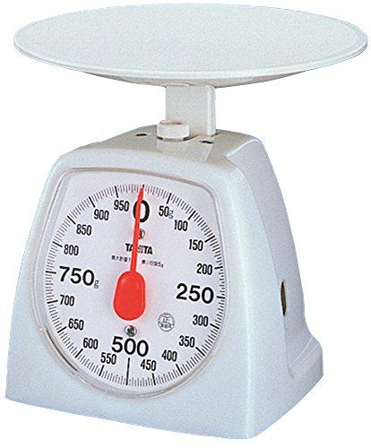 タニタ アナログクッキングスケール 1kg ホワイト 1439-WH