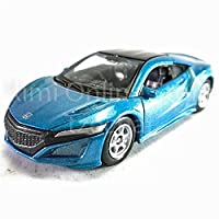Welly 1:60 Die Cast 2015 Honda NSX Car Blue Color Model Collection Christmas New Gift