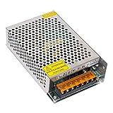 SODIAL(R) DC 12V 10A 120Wスイッチング電源定電圧変圧器/安全設計されたアルミニウムパワートランス 過負荷、過電圧保護付き