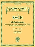 Violin Concertos: Violin Concertos, For Violin and Piano (Schirmer's Library of Musical Classics)