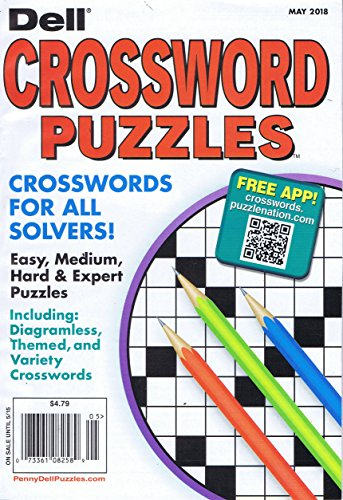 Dell Pocket Crossword Puzzle [US] May 2018 (単号)...