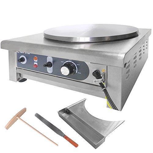 KIPROSTAR 電気クレープ焼き器 クレープメーカー 業務...