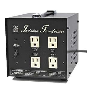 プロケーブル アイソレーション電源トランス 600W 黒