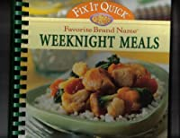 Favorite Brand Names: Fix It Quick Weeknight Meals [並行輸入品]