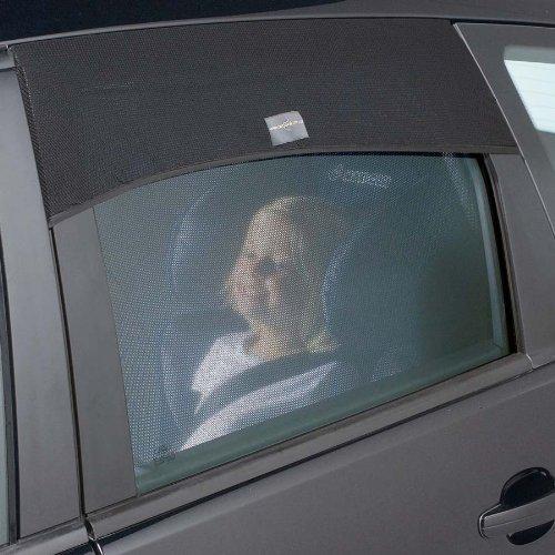 outlook アウトルック 換気ができる車用サンシェイド auto shade オート シェード Curved 角丸ドア用 1枚入