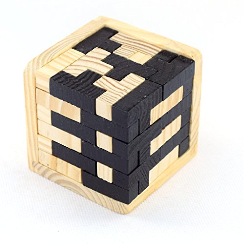 PhantomSky 3D 木製 ブレーンティーザー 子供?大人対象 ロジカルシンキングに挑戦 ギフトとデコレーションアイディアにパーフェクト #9