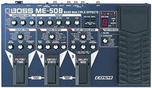 BOSS Bass Multiple Effects ベース用マルチ・エフェクター ME-50B