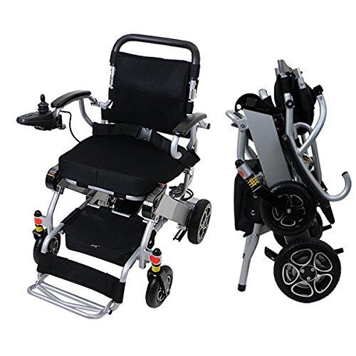 電動車椅子 アルミ製 折りたたみ 車椅子 軽量 コンパクト 電動 手動 切替...