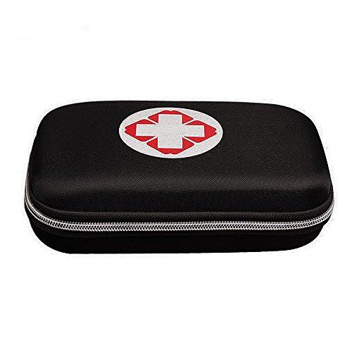 Sheltons 携帯用救急箱 緊急応急セット 防災セット ファーストエイドキット スポーツケア 応急処置17種類 (ブラック)