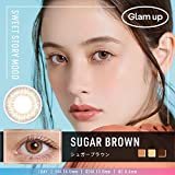日本限定 Glam up グラムアップ カラコン Sugar brown シュガーブラウン 1day 10枚入り 度あり 度なし (0.00)