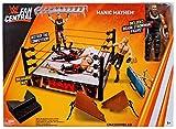 WWE マテルファン中央マニックメイヘムプレイセット リング付き Braun Strowmanフィギュア