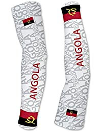 アンゴラScudoPro Compression Arm Sleeves UV保護ユニセックス – Walking – サイクリング – Running – ゴルフ – 野球 – バスケットボール