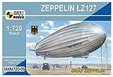 マーク1 1/720 ドイツ LZ127 グラーフ・ツェッペリン プラモデル MKM72005