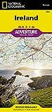 National Geographic Adventure Map Ireland 画像