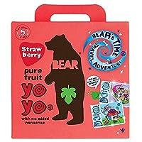 (Bear (くま)) ヨーヨーイチゴ5パック100グラム (x6) - Bear Yo Yo Strawberry 5 Pack 100g (Pack of 6) [並行輸入品]