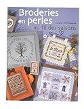 LTA 「Broderies en Perles au fil des Saisons au fil des saisons」 クロスステッチ図案集-フランス語