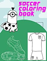 soccer coloring book: Interesting Coloring Book For Kids, Football, Baseball, Soccer, lovers and Includes Bonus Activity 100 Pages (Coloring Books for Kids)