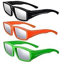 MIOIM 日食グラス 日食専用メガネ 4セットCE認証 ISO認証