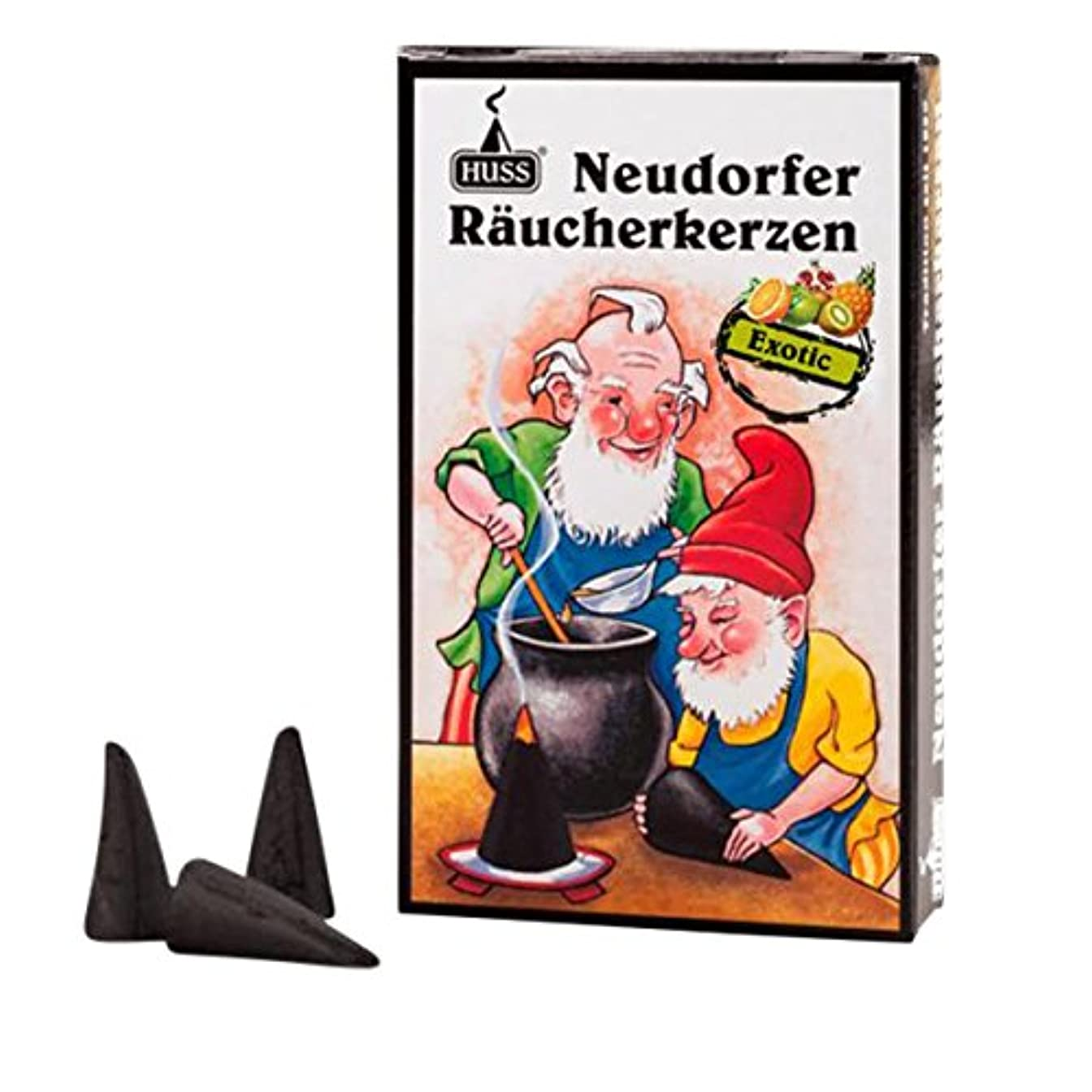 Huss Incense Cones for German Incense Smoker – エキゾチック – 環境にやさしいドイツのハンドメイド