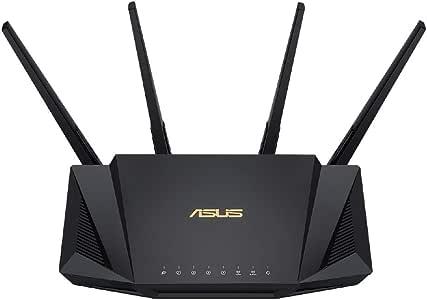 ASUS Wi-Fi 無線ルーター RT-AX3000 WiFi6(11ax)対応 デュアルバンド 高速メッシュ 最大 21台接続 【 戸建 3階建 / マンション 4LDK 】