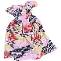 Dovewill 12インチブライスドール適用  1/6スケール  素敵  ストライプ  ドレス  人形 服