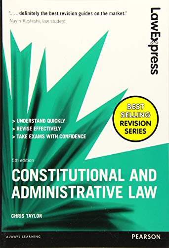 Download Constitutional & Administrative Law: Uk Edition (Law Express) 1292086955