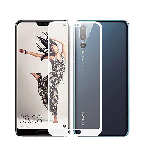 Huawei P20 Pro ガラスフィルム TopACE Huawei P20 Pro フィルム 硬度9H 3D 耐衝撃 撥油性 超耐久 耐指紋 飛散防止処理保護フィルム 【全画面貼る可能】液晶画面全面タイプ Huawei P20 Pro HW-01K