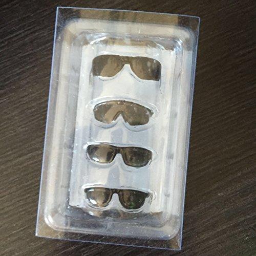 Lily 1/6 1/6スケール ドール用 眼鏡 メガネ フィギュア アクセサリー 12インチ PHICEN 1/6 素体 4枚