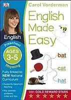 English Made Easy Rhyming Ages 3-5 Preschool (Made Easy Workbooks)