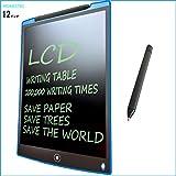 HOMESTEC 12インチ 電子手帳 文房具 電子パッド 電子メモ デジタルペーパー 12インチ (ブルー)