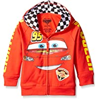 Disney Little Boys' Toddler Cars '95 Hoodie, Red, 2T