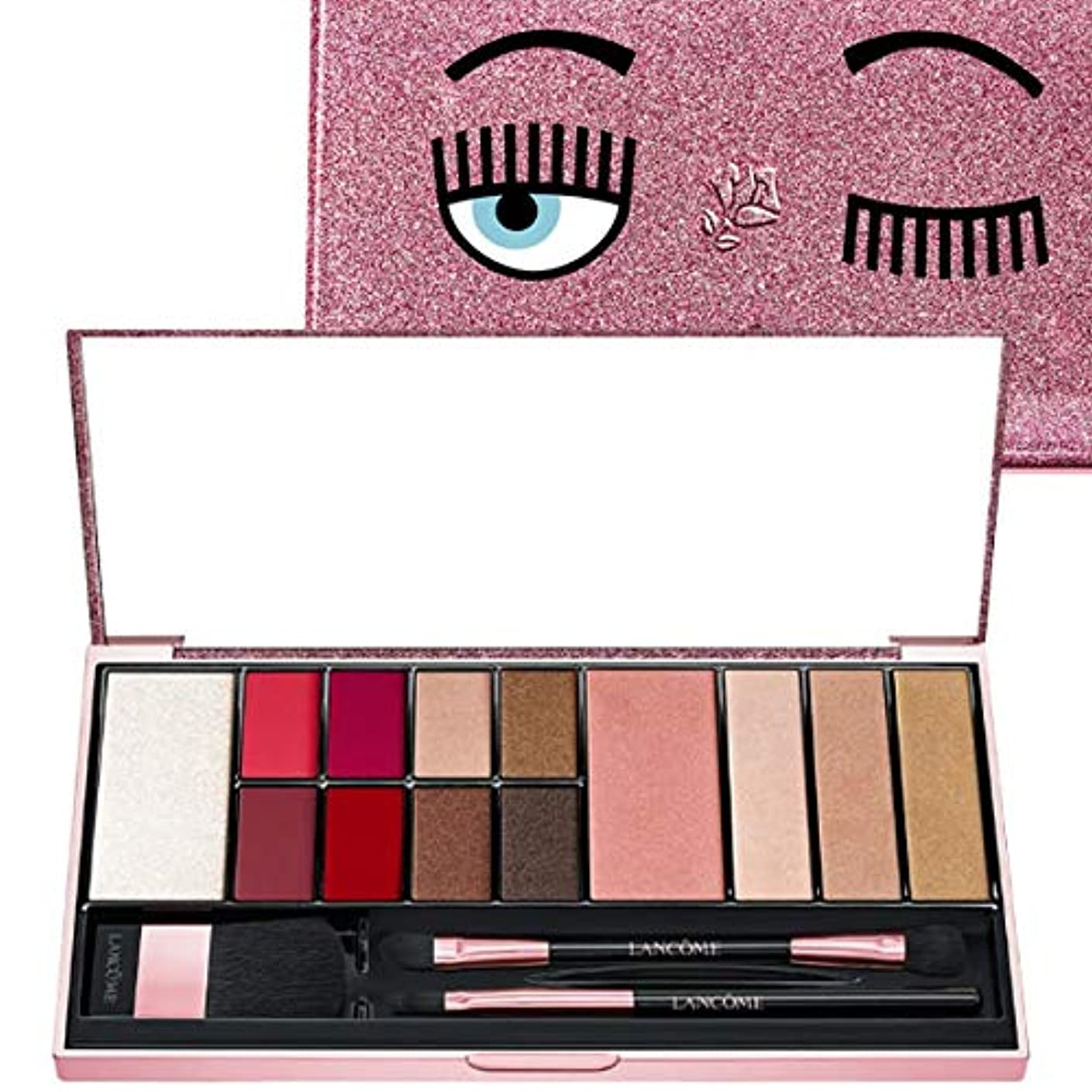 地図呪い感覚ランコム(LANCOME), 限定版 limited-edition, x Chiara Ferragni The Flirting Eyeshadow Palette [海外直送品] [並行輸入品]