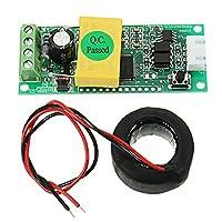 ランフィー AC デジタル多機能メーター電流計 TTL 電流テスターモジュール PZEM-004T コイル 100a 80-260 v