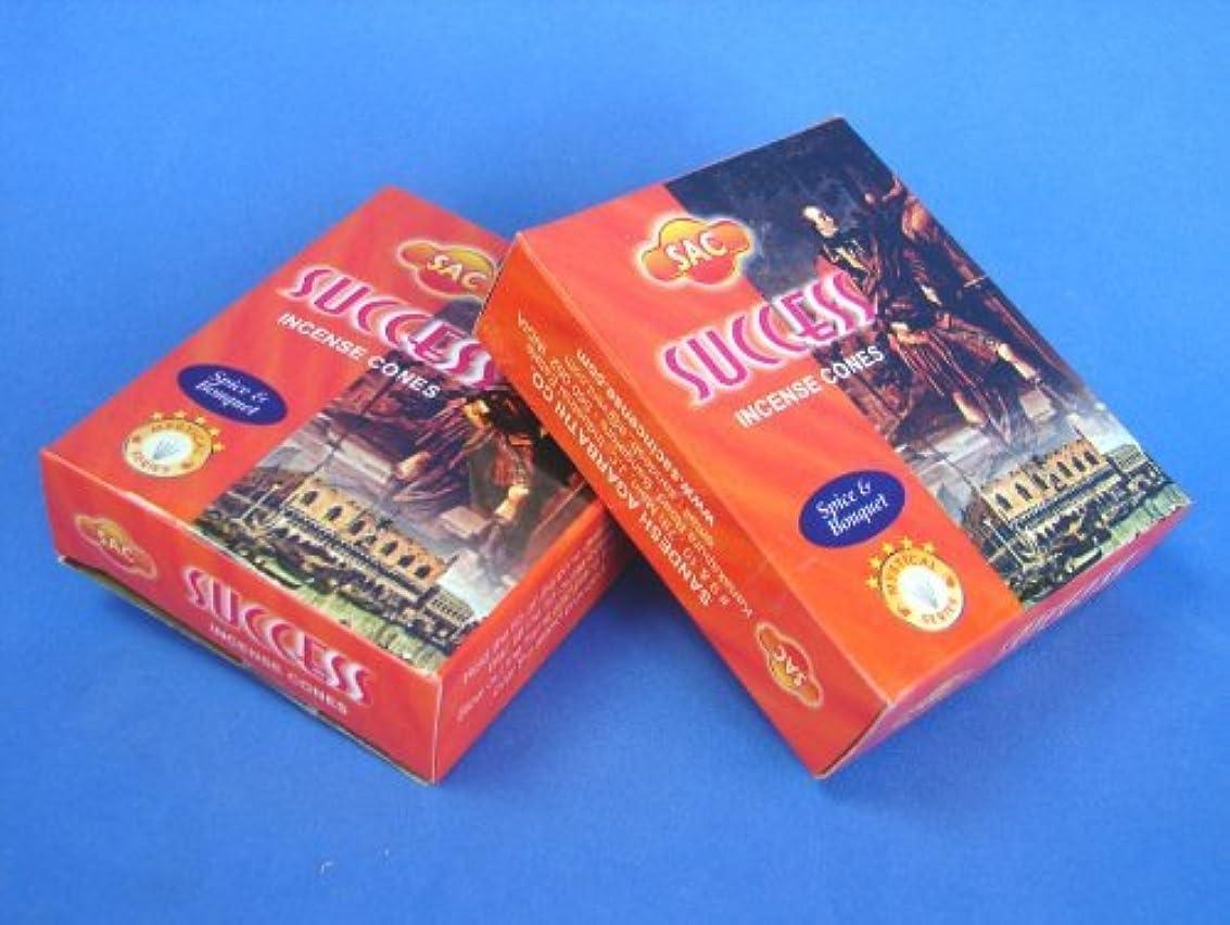 ポンペイ控えめな価格2 Boxes of Sac Success Incense Cones