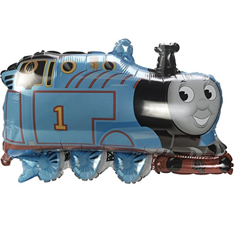 飾りつけ アルミ風船「76cmきかんしゃトーマスエンジン」誕生日 バースデー デコレーション フィルム風船 キャラクターバルーン
