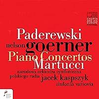 Paderewski/Martucci: Piano Con