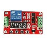 【ノーブランド品】多機能 リレーモジュール セルフロック リレー サイクル タイマー モジュール PLC 12V
