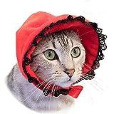 necos (ネコス) ふしぎな森のパーティ ボンネット(レッド)