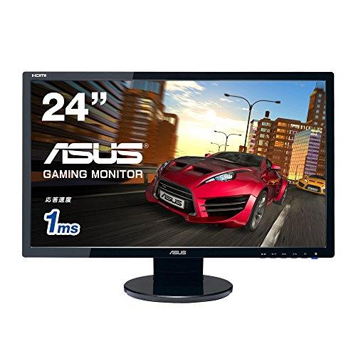 ASUS Gamingモニター24型 フルHDディスプレイ ( 応答速度1ms / HDMI,DVI,D-sub / スピーカー内蔵 / VESA規格 / 3年保証 ) VE248HR