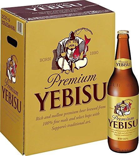 サッポロ ヱビスビール大瓶セット [ 633ml×6本 ]
