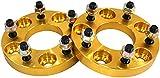 ワイドトレッドスペーサー ワイトレ スペーサー 20mm 金 ゴールド PCD 114.3 5H P1.25 P.C.D 1.25 5穴 20ミリ 2枚組