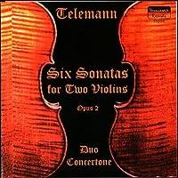 Telemann Six Sonatas for Two Violins Op.2