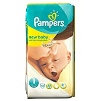 Pampers New Baby Size 1 Newborn 2-5kg (45 per pack) パンパース赤ちゃんサイズ1新生児2~5キロ(パックあたり45 )