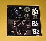B'z 声明 Still Alive オリジナル ステッカーシート