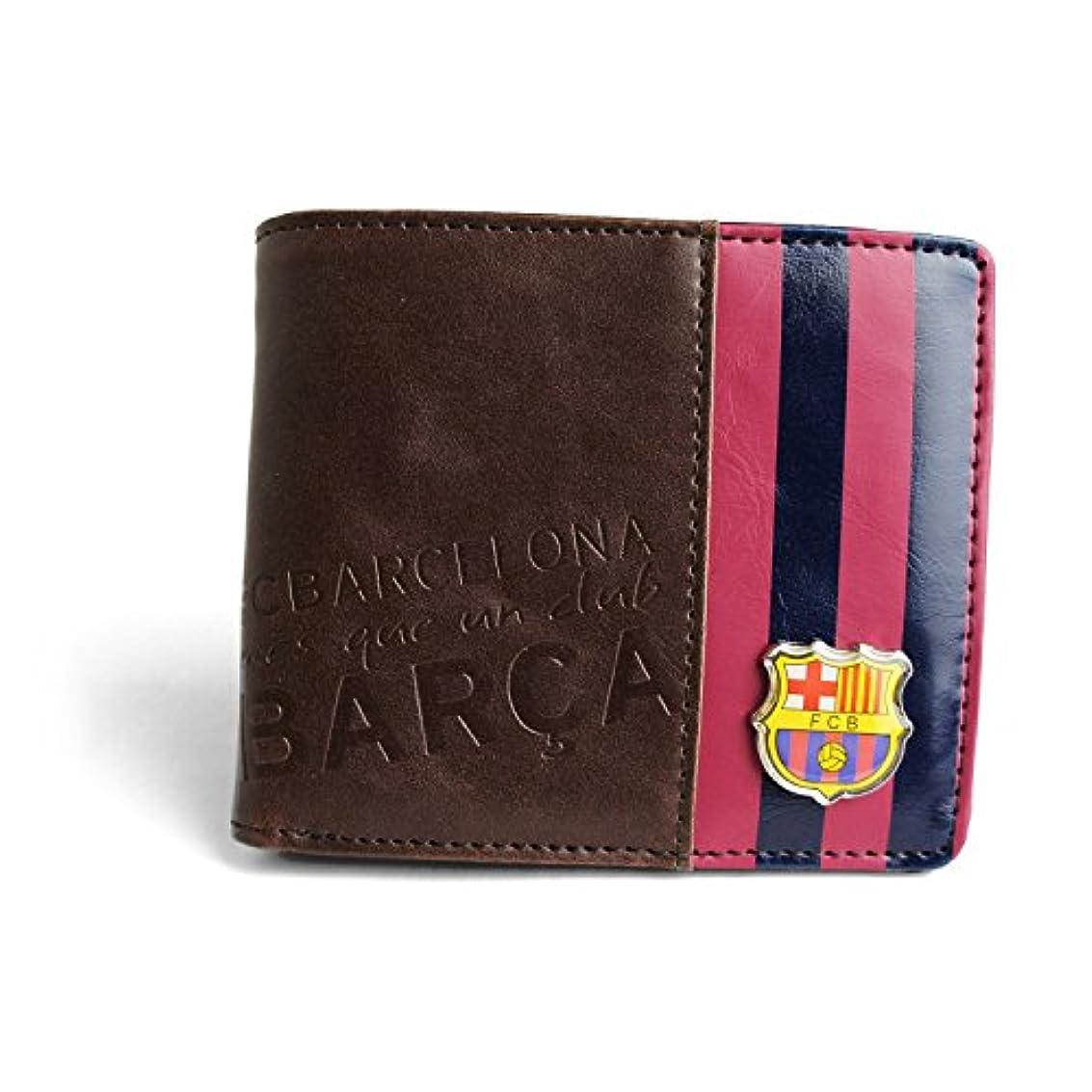 ショート逃れる混雑[FCバルセロナ] FCBARCELONA 二つ折り 財布 サッカー スペイン ヨーロッパ フットボール メンズ キッズ 公式 オフィシャル リーガ エスパニョーラ バルサ