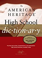 American Heritage High School Dictionary: Fourth Edition