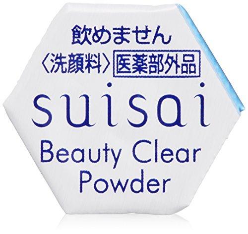 【kanebou(カネボウ)】suisai スイサイ ビューティクリアパウダーa 0.4g×32個 【洗顔料】【薬用】【酵素洗顔パウダー】
