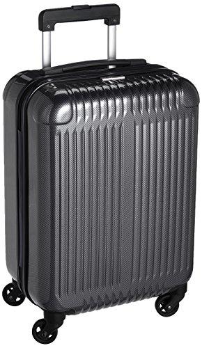 [イグザクト] スーツケース フェイザー 機内持込可  26L 48cm 2.9kg 06081 02 ブラックカーボン